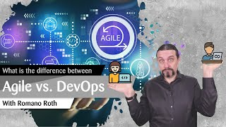 What is the difference between Agile ♻ and DevOps 👩‍💻🧡👷‍♀️?