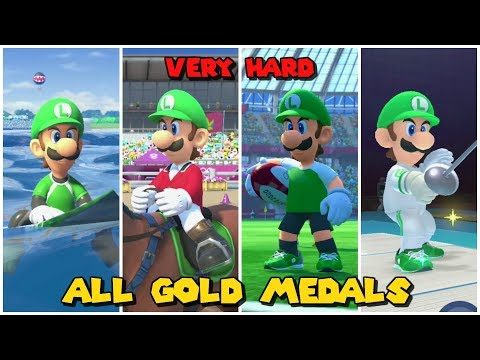 Luigi wins by doing absolutely EVERYTHING | Mario & Sonic at the Olympic Games Tokyo 2020