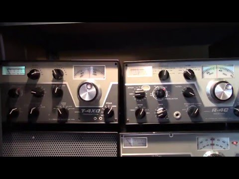 Drake C-Line HF Amateur Receiver And Transmitter (1973)
