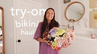 bikinis that make me feel confident & CUTE (try-on haul)