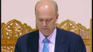 Peace Conference 2009 - Chris Grailing Speech