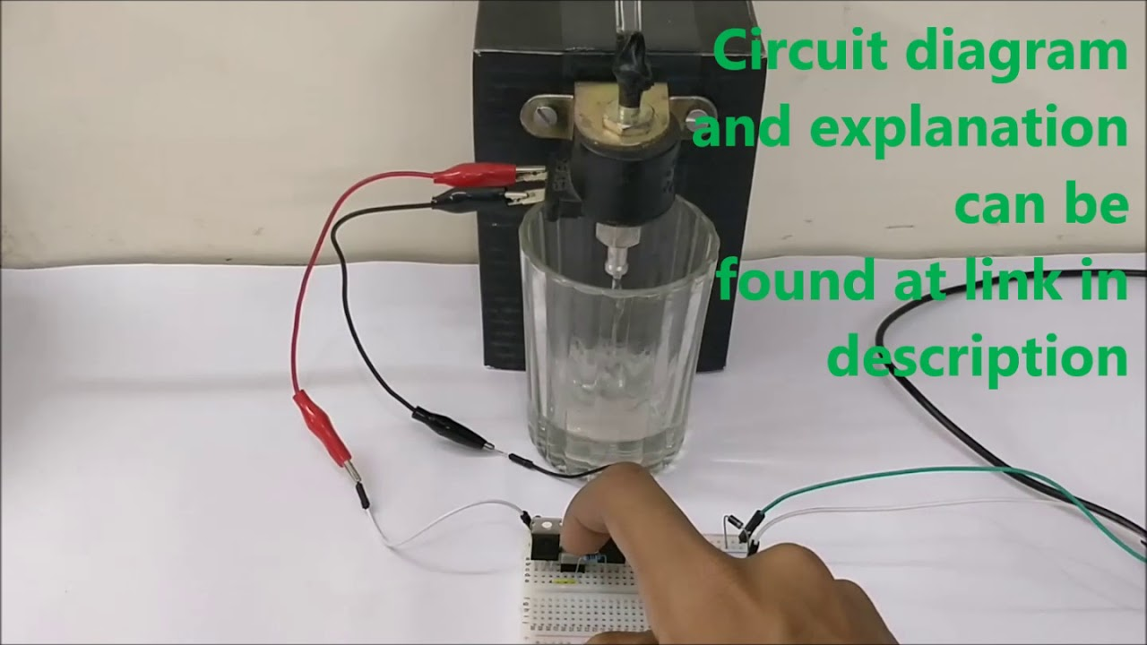 homemade volt solenoid wiring diagram solenoid driver circuit diagram  solenoid driver circuit diagram