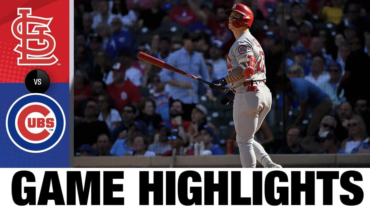 Download Cardinals vs. Cubs Game 1 Highlights (9/24/21) | MLB Highlights
