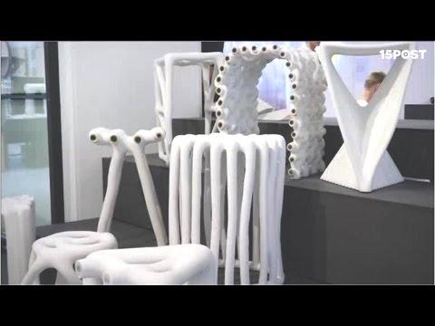 Muebles de dise o hechos con materiales reciclados de for Muebles con material reciclado