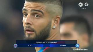 PSG 2 x 2 Napoli -Champions League 2018/2019