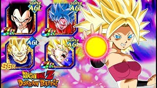 These cards are so good!! new ssj2 caulifla & berserk kale!! dragonball z dokkan battle!!
