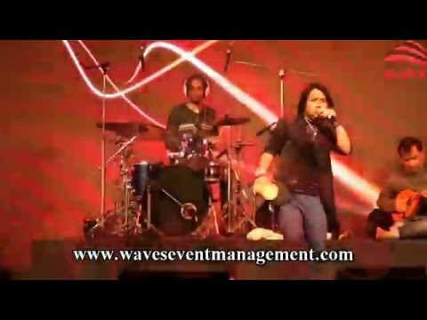Bam Lahiri by kailash kher live at Omaxe l Waves Event Management