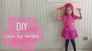 Costume Skye. Paw patrol. D.I.Y. Костюм Скай из сериала «Щенячий патруль»