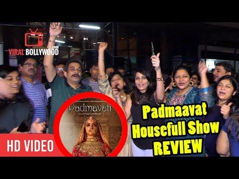 Padmaavat Housefull Show Review | Crazy Response | Karni Sena | Deepika, Shahid, Ranveer