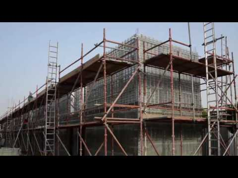 Construction of Labor accommodation with Coffor in 3 weeks