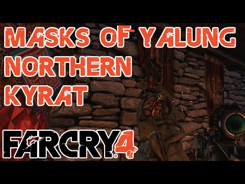 All 19 Masks Of Yalung In North Kyrat, Plus The Goat - Far Cry 4