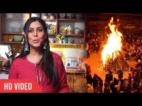 Sakshi Tanvar Reaction On Holi | How Sakshi Use To Celebrate Holi | Viralbollywood