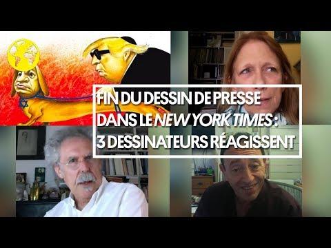 Fin des caricatures au New York Times : 3 dessinateurs réagissent