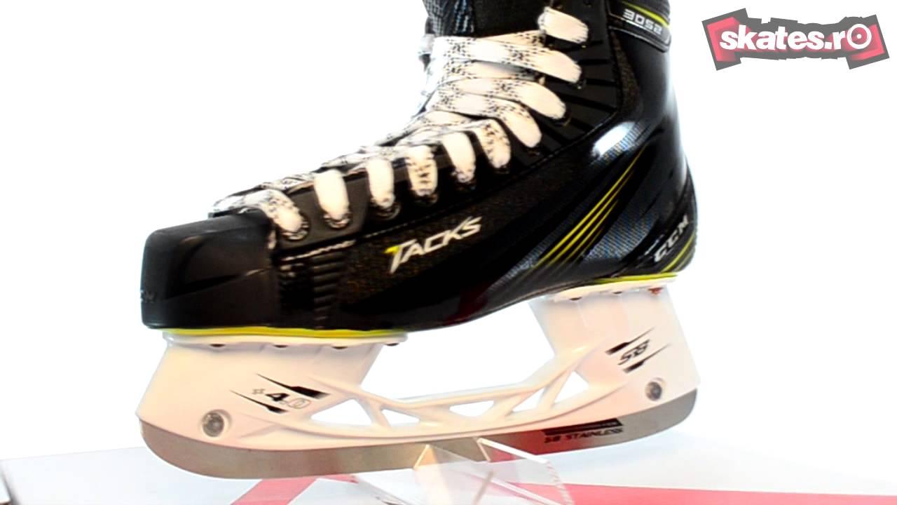 608572ff209 Patine de Hockey CCM Tacks 3052 - YouTube