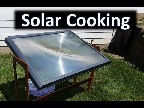 Cooking with the Sun - Fresnel Lens