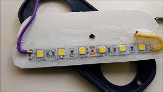 Светодиодная подсветка номера - лайфхак