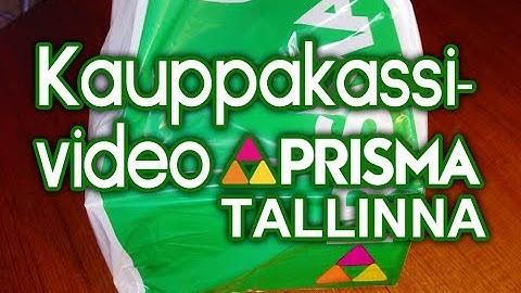 Kauppakassivideo - Prisma Tallinna