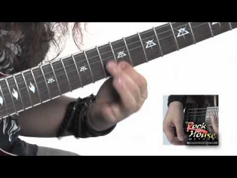 Gus G. Guitar Lesson From His Rock House DVD