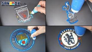 Premier League Ranking Teams Logo Pancake art - Liverpool, Tottenham, Manchestercity, Chelsea thumbnail