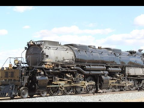 2019 U.P. Big Boy 4014 The Great Race Across the Southwest Part. 2 Compilation