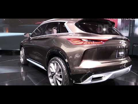 2020 Infiniti QX50 VC  Turbo Concept SUV   Exterior And Interior 1080p