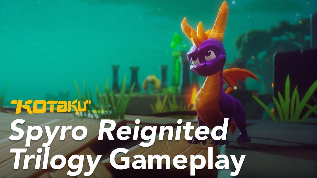 Spyro Reignited Trilogy, E3 2018