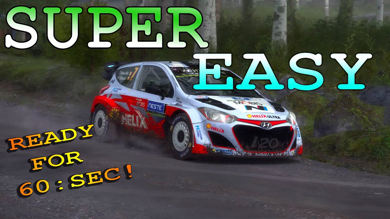 dirt rally how to get mod livery easy fast youtube. Black Bedroom Furniture Sets. Home Design Ideas