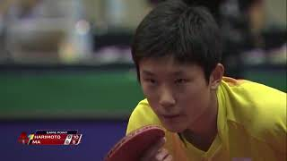 УДИВИТЕЛЬНО!! 14-летний Харимото победил Ma Long в # TTFWorldTour Japan Open Quarters.