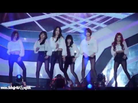 T-ara 'Number 9' mirrored Dance Fancam.