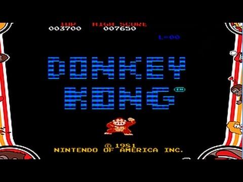 Resultado de imagen de donkey kong arcade 1981
