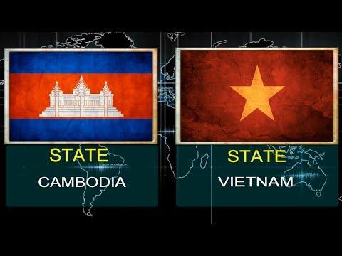 CAMBODIA VS VIETNAM -  Military Power Comparsion (2018).