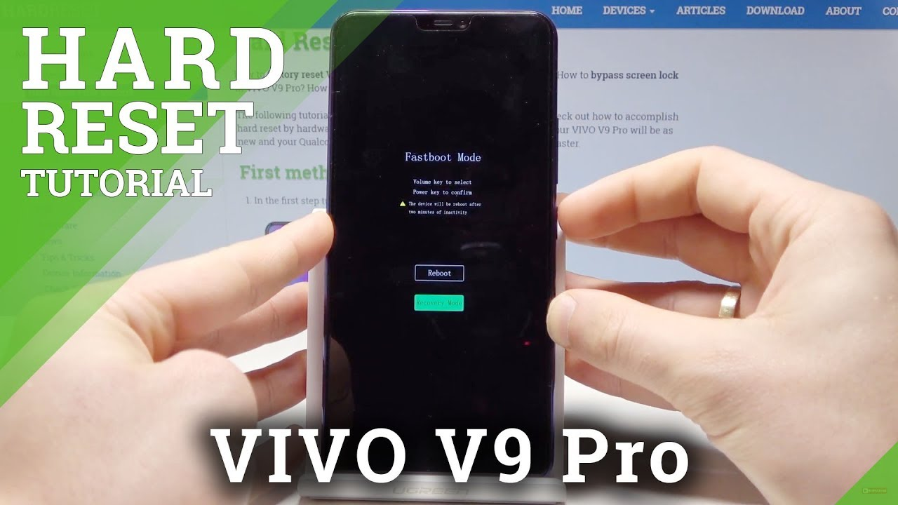Hard Reset VIVO V9 Pro - HardReset info