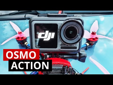 Фото Osmo Action тест на гоночном FPV дроне. Сравнение с GoPro 7