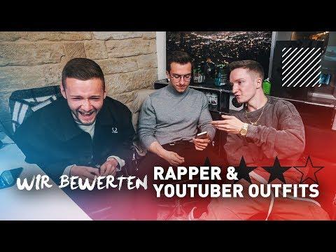 Wir bewerten Rapper / Youtuber Outfits mit Justin   Inscope21