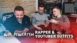 Wir bewerten Rapper / Youtuber Outfits mit Justin | Inscope21