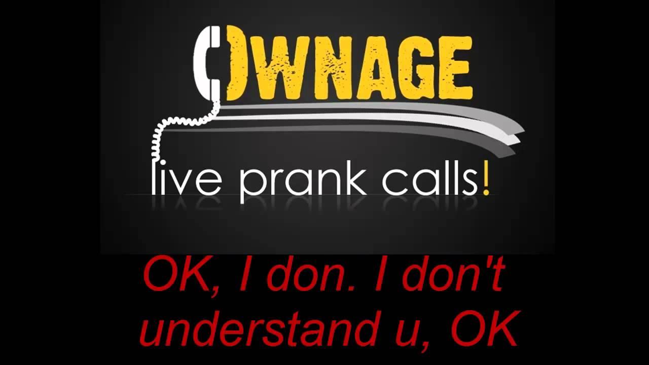 Chinese Restaurant Prank Call Ownage