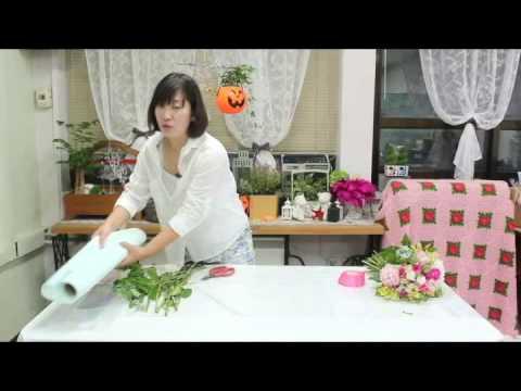 플로민트_06_꽃다발 선물포장