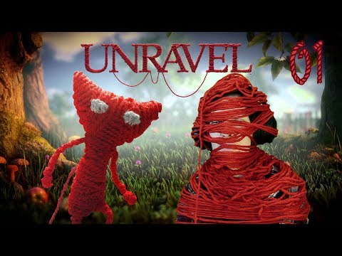 UNRAVEL Walkthrough Part 1 - I'm Yarny :3