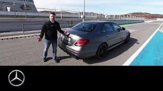 360° video walkaround of the Mercedes AMG E 63 – Mercedes Benz original