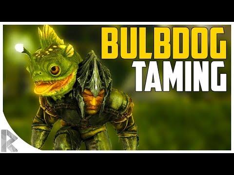 BULBDOG TAMING! - How to Tame a BULBDOG - Ark Aberration Expansion Pack DLC EP#3