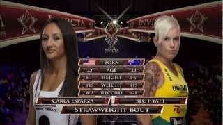 Invicta FC 4 Esparza vs Hyatt HQ