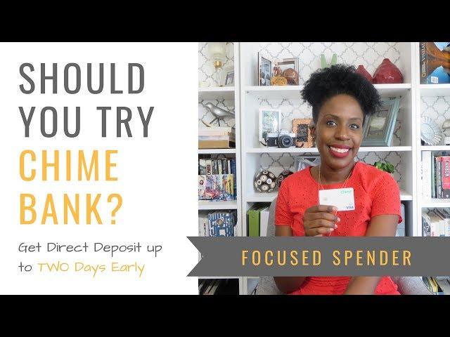 Should You Try Chime Bank?? Get Direct Deposit up to TWO DAYS Early!