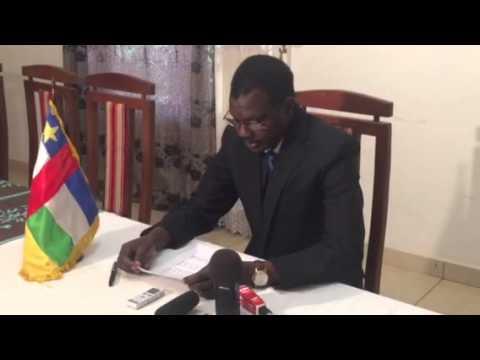 Déclaration du Premier Ministre Centrafricain Mahamat KAMOUN suite aux incidents du 26 sept. 2015