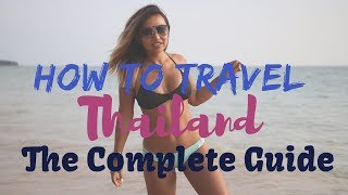 Gambar cover Our COMPLETE Guide to travel THAILAND