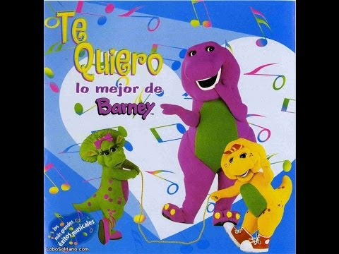 Te Quiero, lo mejor de Barney CD Completo