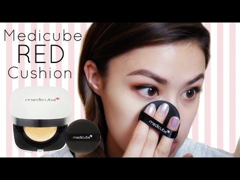 MEDICUBE Red Cushion Foundation First Impressions & Review | The Beauty Breakdown