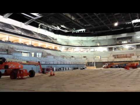 Construction of the Denny Sanford Premier Center (February)
