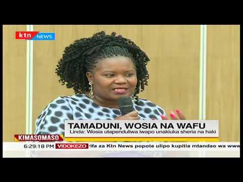 Je, unahisi kwamba waafrika wanafaa kuwa na wosia wa wafu?   KIMASOMASO