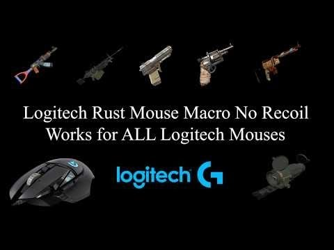 Rust recoil hacks logitech scripts 2019