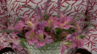 Flower Arranging:  A New Trick to Arrange Alstroemeria